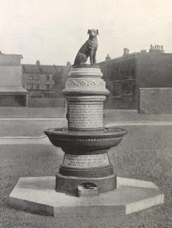 The original 'Brown Dog' Memorial