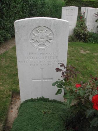 Pt Harry Ditchfield's Grave