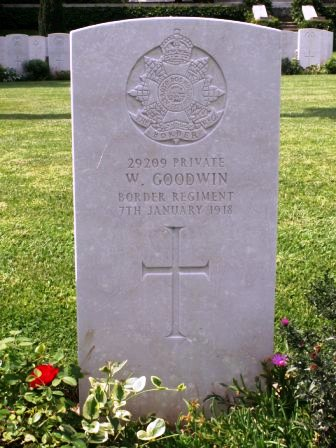 Pt William Goodwin's grave