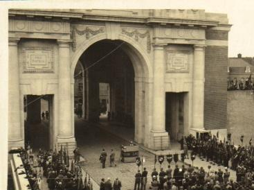 The Menin Gate Memorial