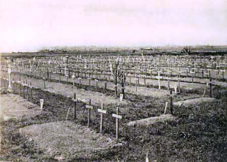 Railway Dugouts Cemetery in the 1920s