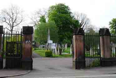Uttoxeter Road Cemetery, Derby